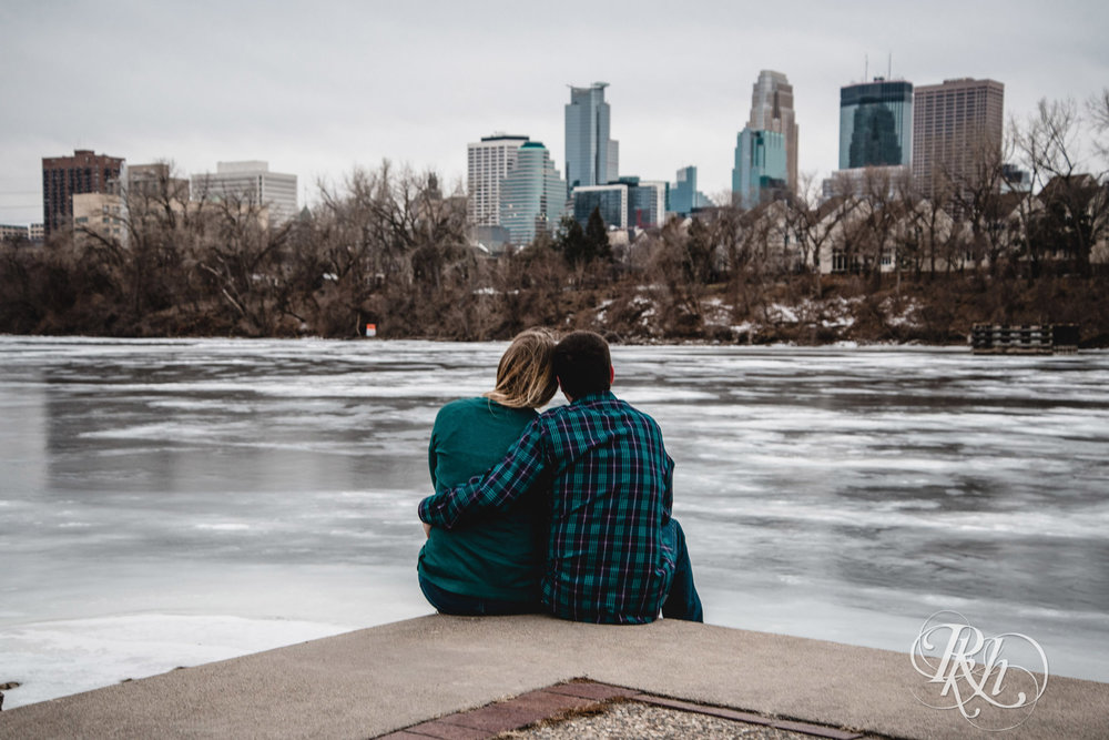 Libby & Ian - Minneapolis Engagement Photography - Honey Lounge - RKH Images (4 of 26).jpg