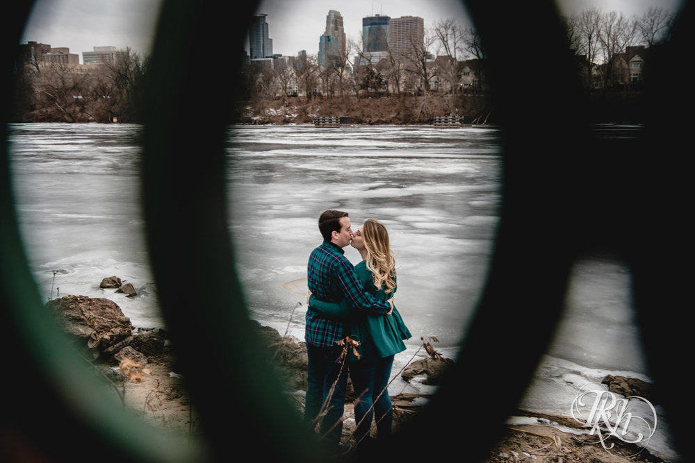 Libby & Ian - Minneapolis Engagement Photography - Honey Lounge - RKH Images (9 of 26).jpg