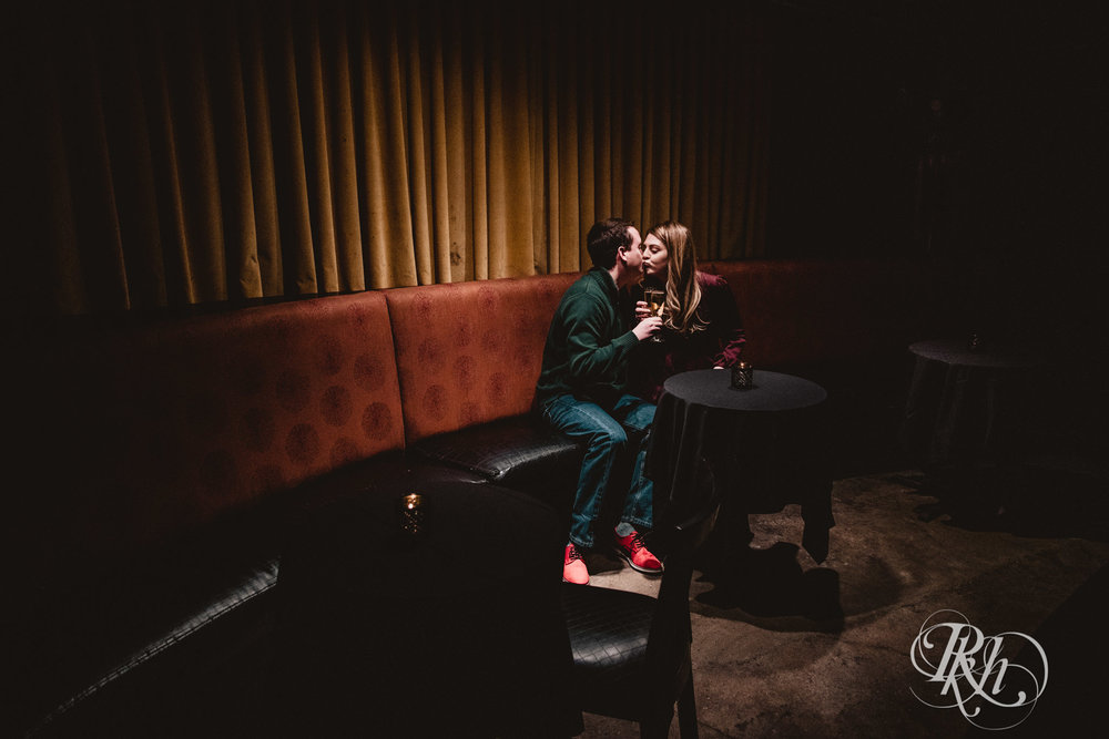 Libby & Ian - Minneapolis Engagement Photography - Honey Lounge - RKH Images (13 of 26).jpg