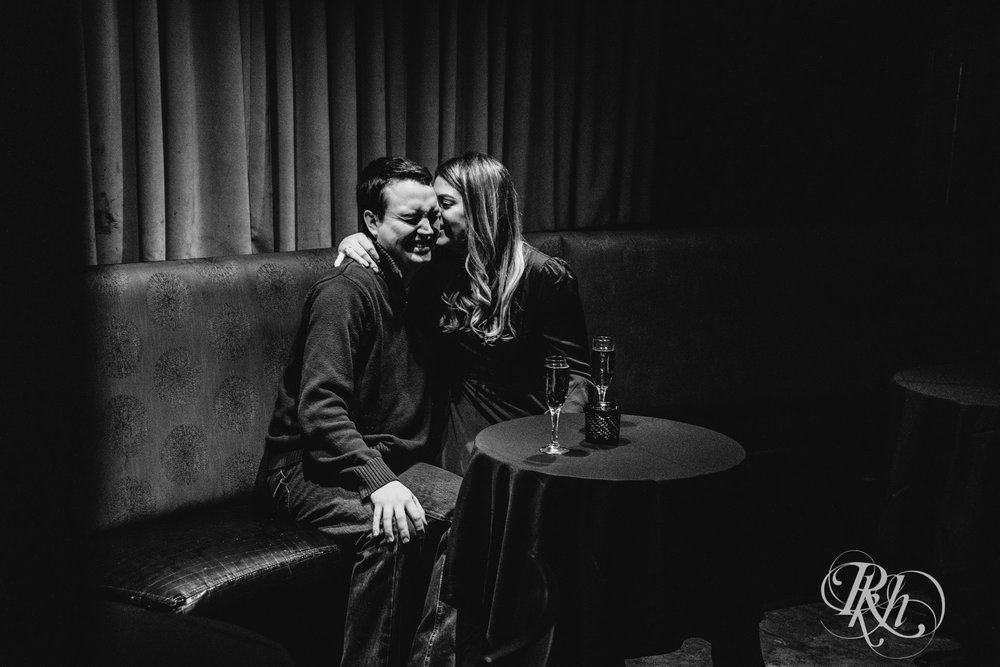 Libby & Ian - Minneapolis Engagement Photography - Honey Lounge - RKH Images (14 of 26).jpg