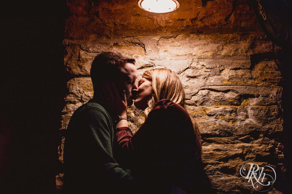 Libby & Ian - Minneapolis Engagement Photography - Honey Lounge - RKH Images (21 of 26).jpg