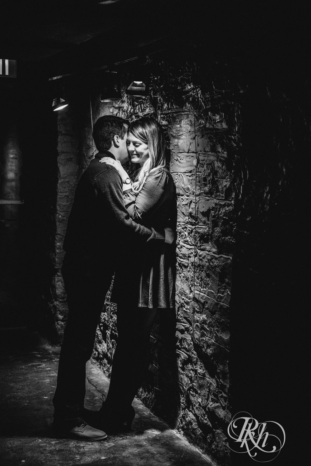 Libby & Ian - Minneapolis Engagement Photography - Honey Lounge - RKH Images (24 of 26).jpg