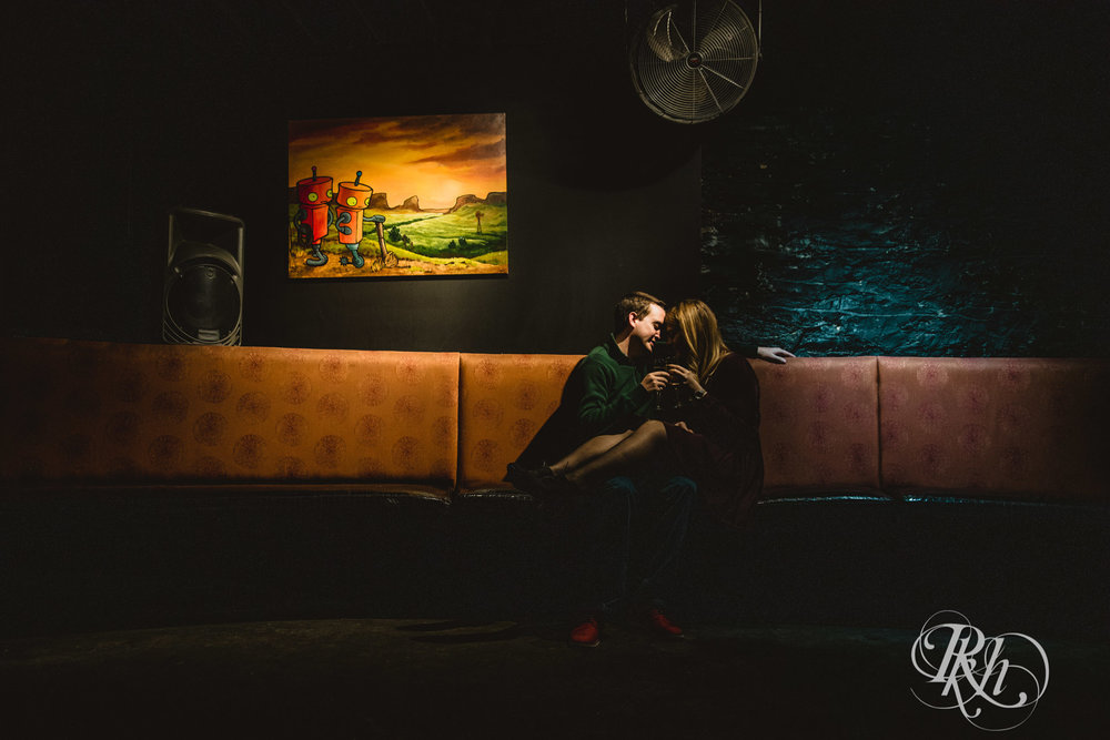 Libby & Ian - Minneapolis Engagement Photography - Honey Lounge - RKH Images (25 of 26).jpg