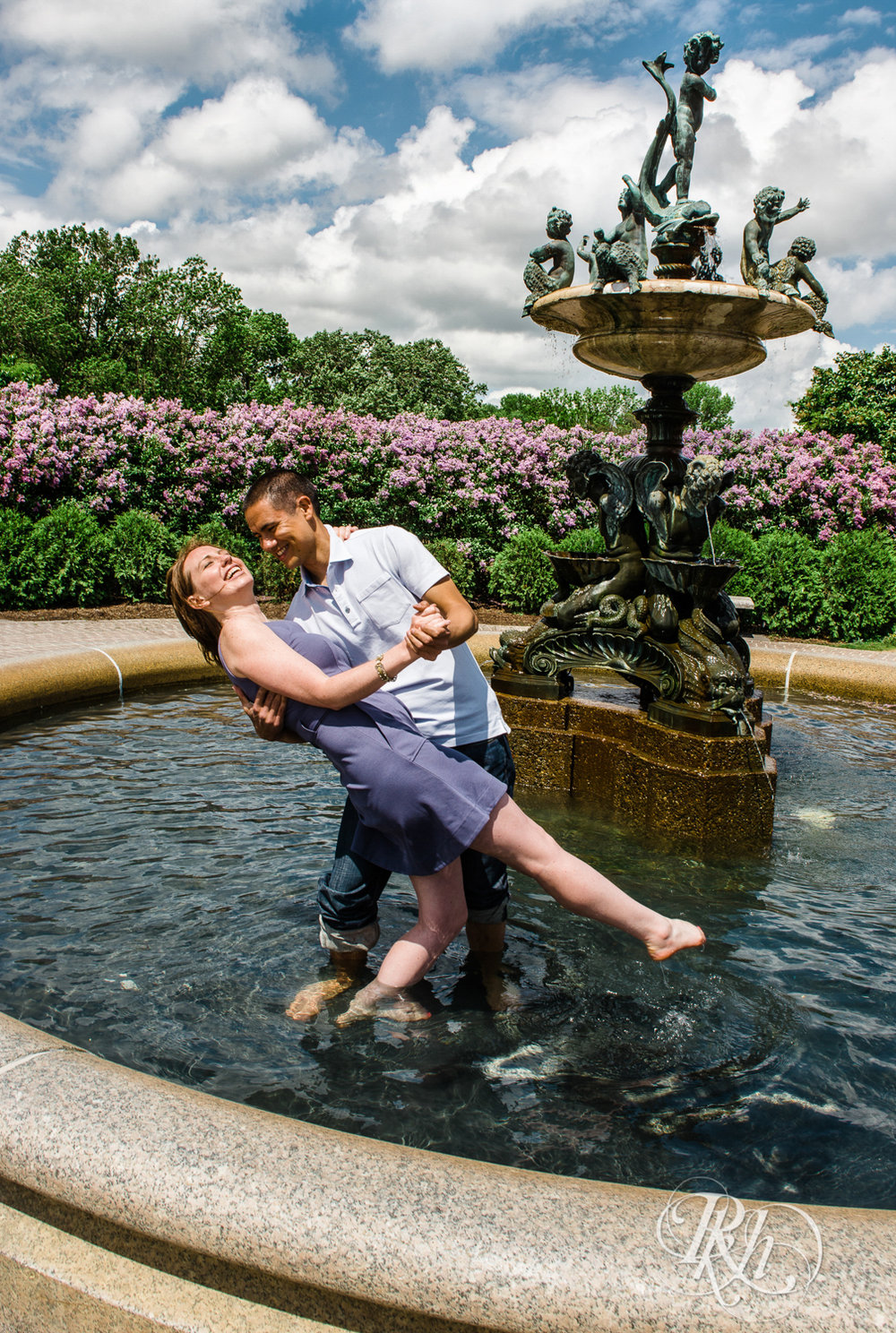 Tess and Eric - Lyndale Rose Garden - Minnesota Engagement Photography - RKH Images  (12 of 12).jpg