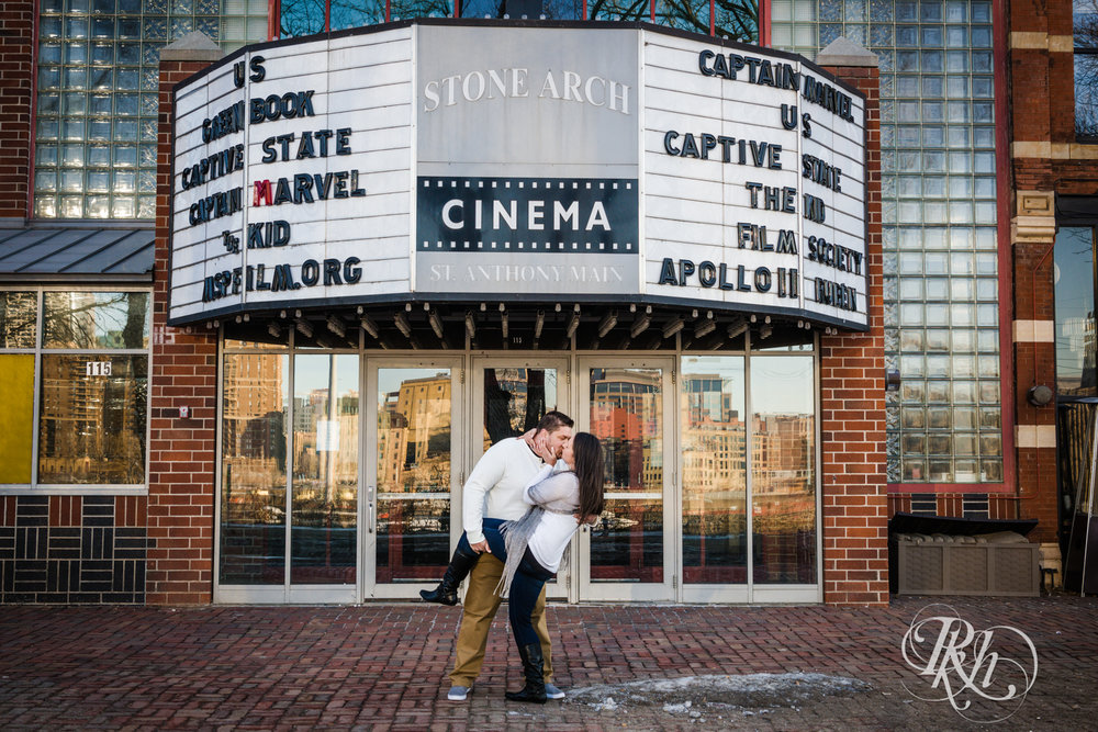 Jolene & Mike - Minnesota Engagement Photography - Sunrise - Stone Arch Bride and St. Anthony Main - RKH Images  (10 of 12).jpg