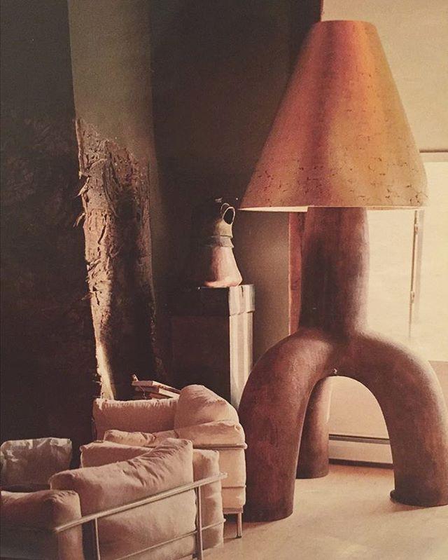Floor lamp by #wendellcastle 🖤