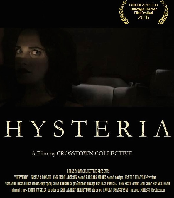 Hysteria 2016- Showing at the Chicago Horror Film Festival 2016