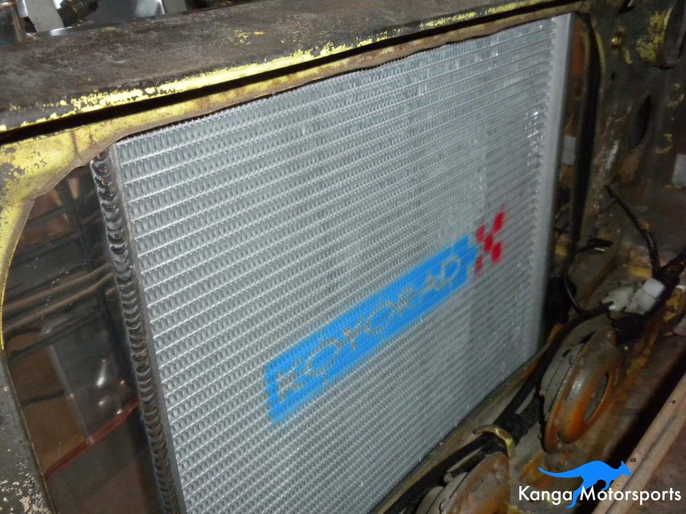 Datsun 240z Koyorad Radiator.JPG