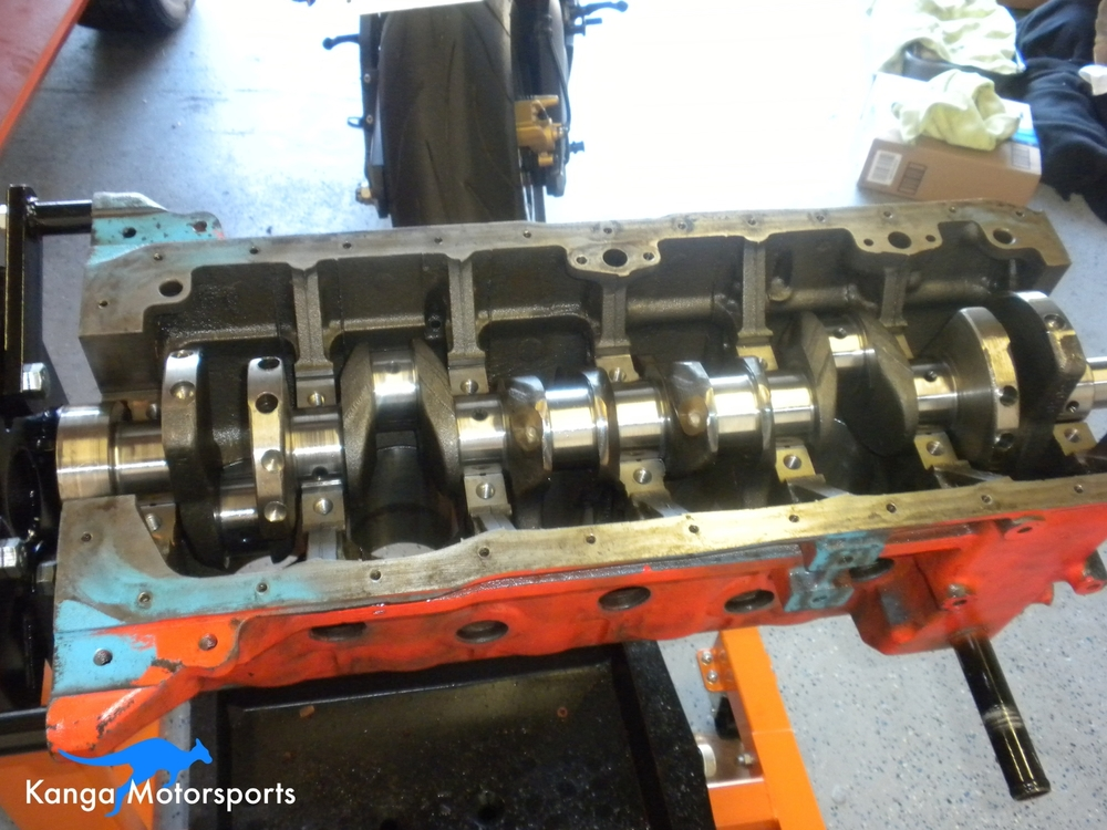 Datsun 240z Crankshaft F54 Block.JPG