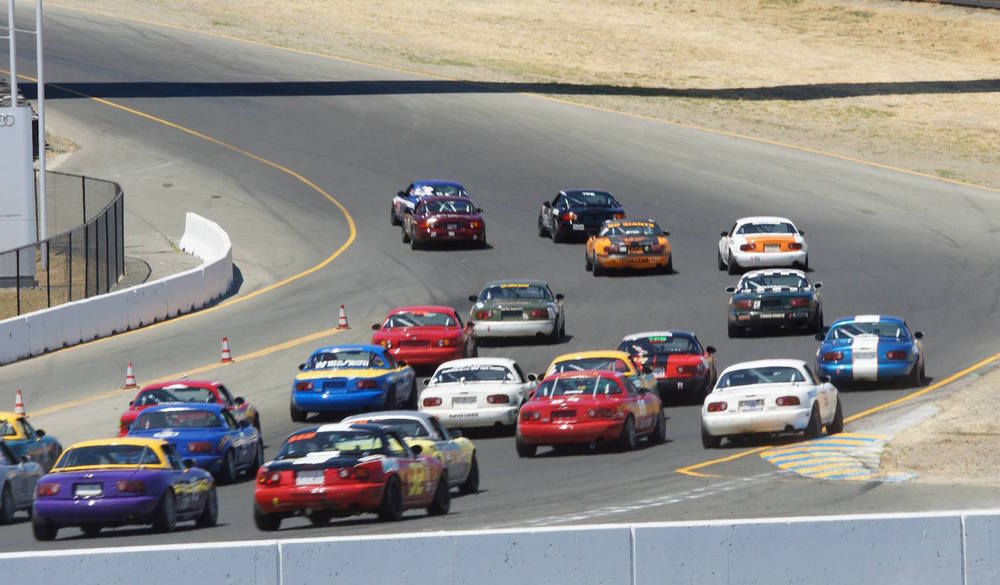 Enjoy some of the close racing  (Photo: SCCA San Francisco Region)