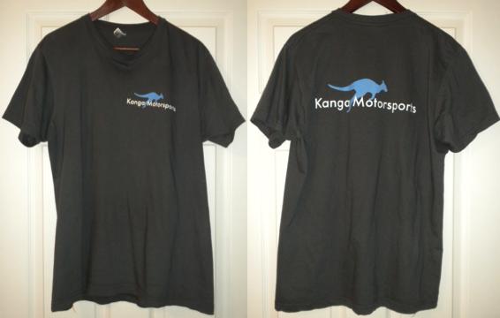 Kanga Motorsports T-Shirt Prototype