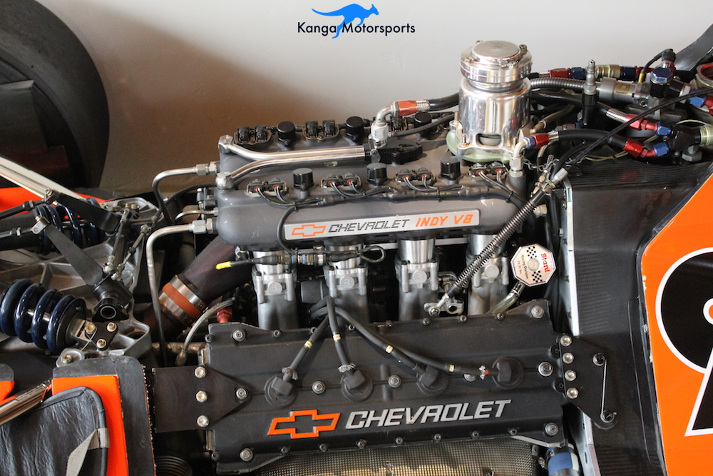1991 LOLA T9100 INDY CAR engine detail.JPG