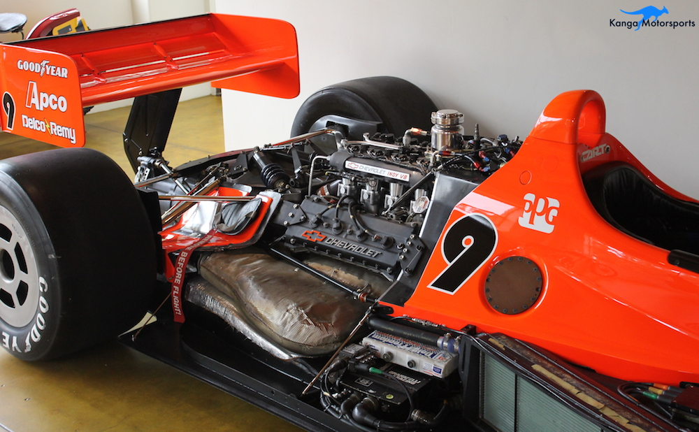 1991 LOLA T9100 INDY CAR rear.JPG
