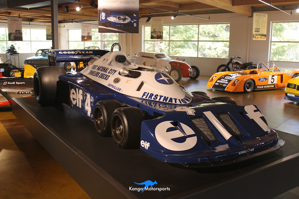 1976 Tyrrell P34 Formula One front right.JPG