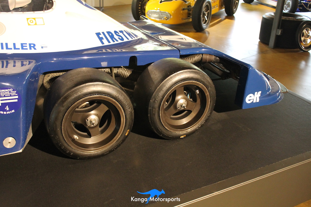 1976 Tyrrell P34 Formula One Wheels.JPG