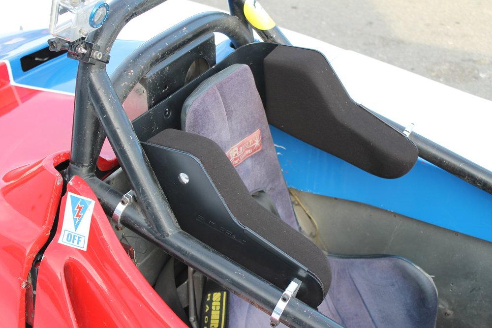 Butler Built Head Support System On Car 4.JPG