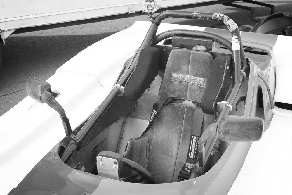 Butler Built Head Support System On Car 1.JPG