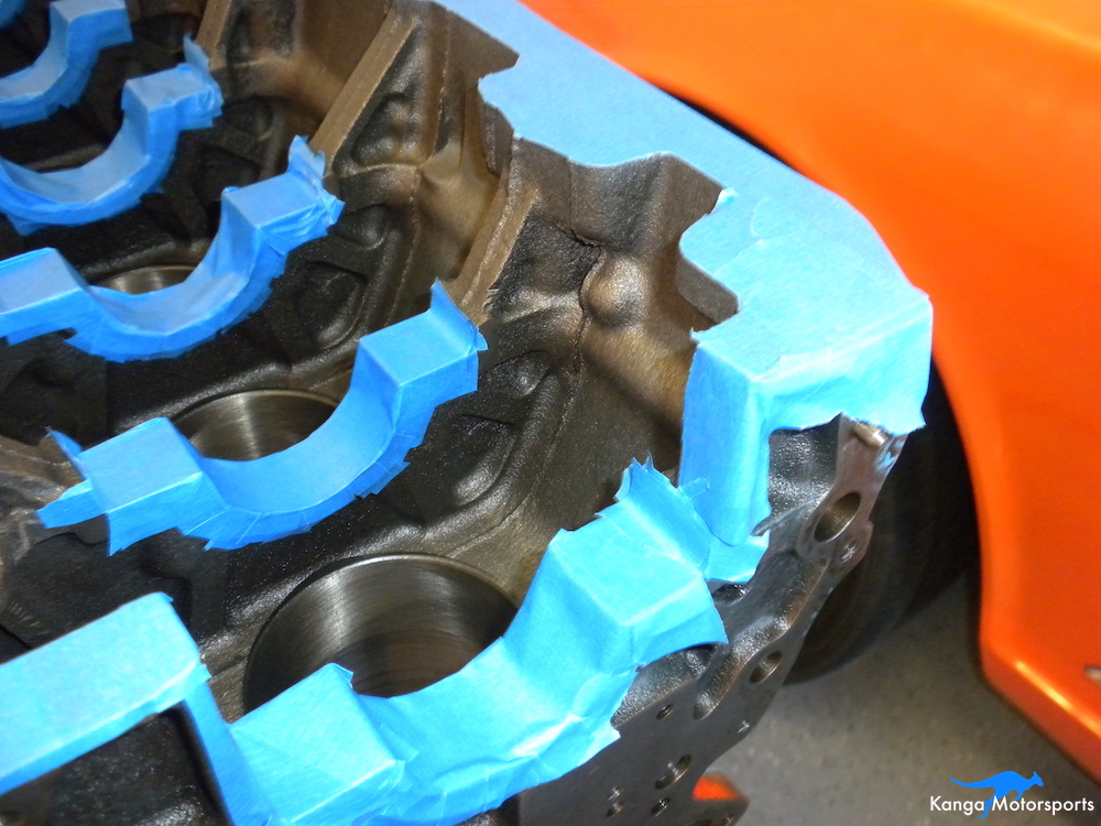 Engine Block Modifications Protect the Rear Cover.JPG