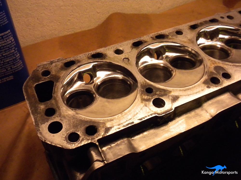 Datsun Cylinder Head Shiney Chambers.JPG