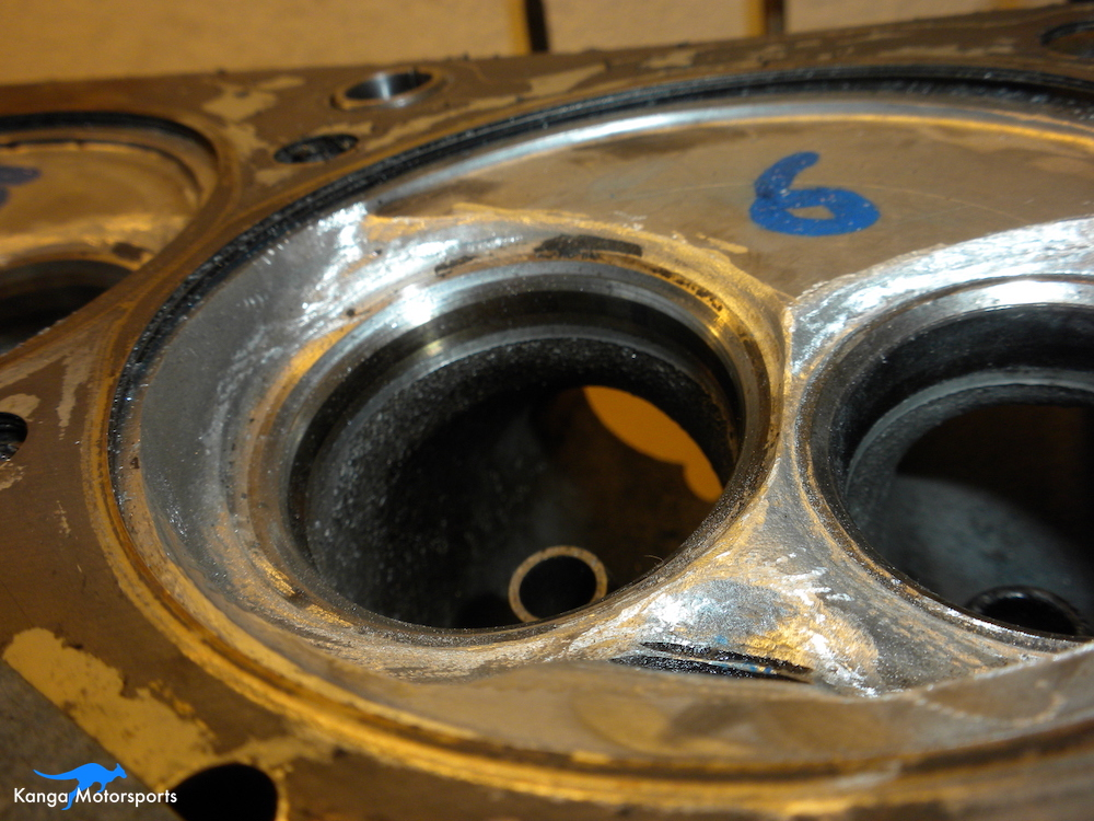Datsun Cylinder Head Left Chamber Shaping.JPG