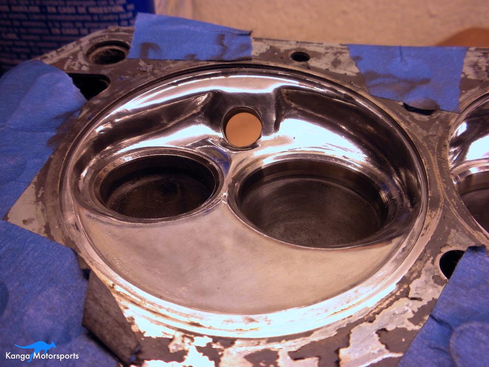 Datsun Cylinder Head Chamber Polishing Stage 2.JPG