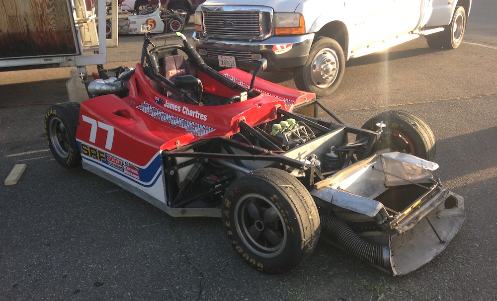Thunderhill Paddock Spec Racer Ford No Body Work.JPG