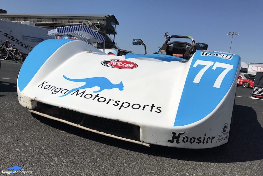 Spec Racer Ford Kanga Motorsports Sonoma Raceway Nose.JPG
