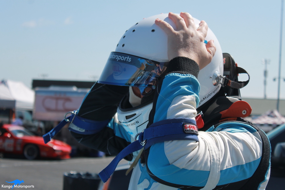 Spec Racer Ford Kanga Motorsports Sonoma Raceway Gearing Up.JPG