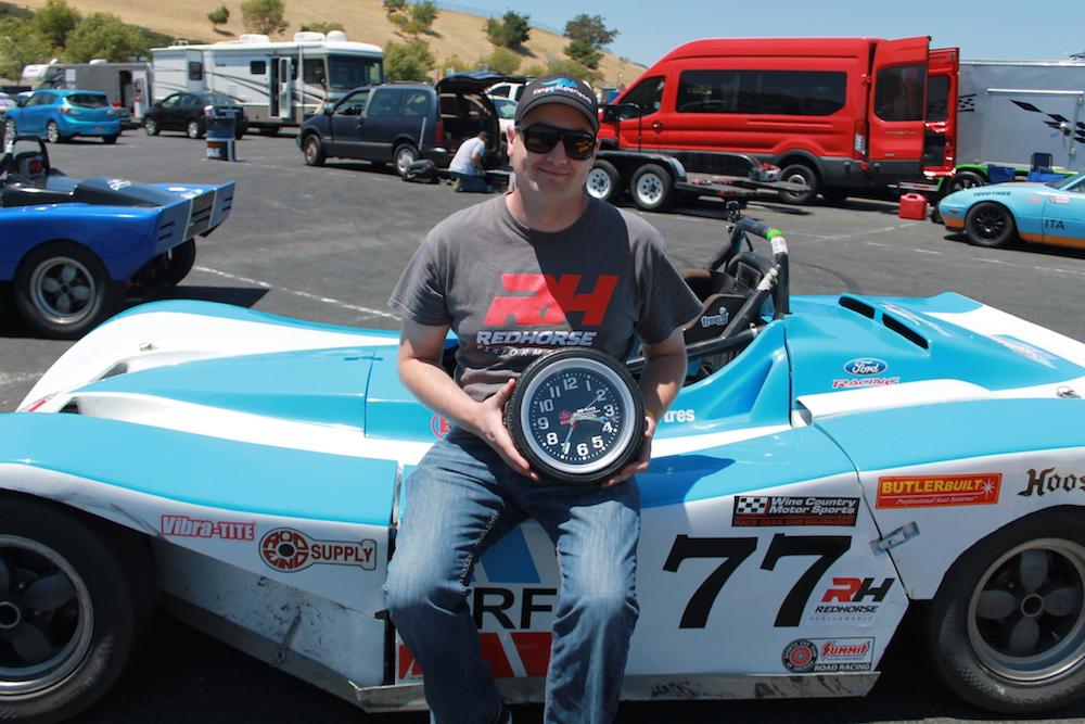 Spec Racer Ford Kanga Motorsports Sonoma Raceway Gearing First Podium.JPG