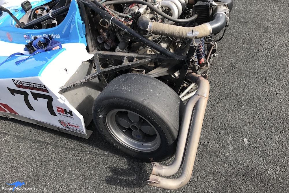 Spec Racer Ford Kanga Motorsports Sonoma Raceway Exhaust Safety Wire Issue.JPG