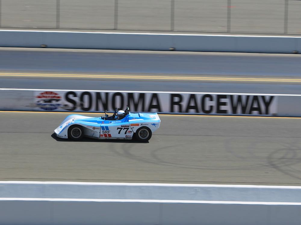 Kanga Motorsports Spec Racer Ford Sonoma Raceway Front Straight Race.JPG