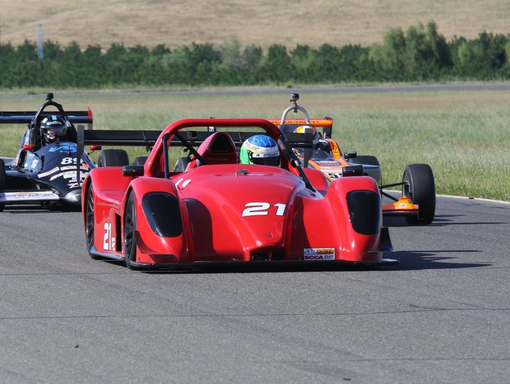 Prototype 2 (P2) Photo Courtesy of SCCA San Francisco Region