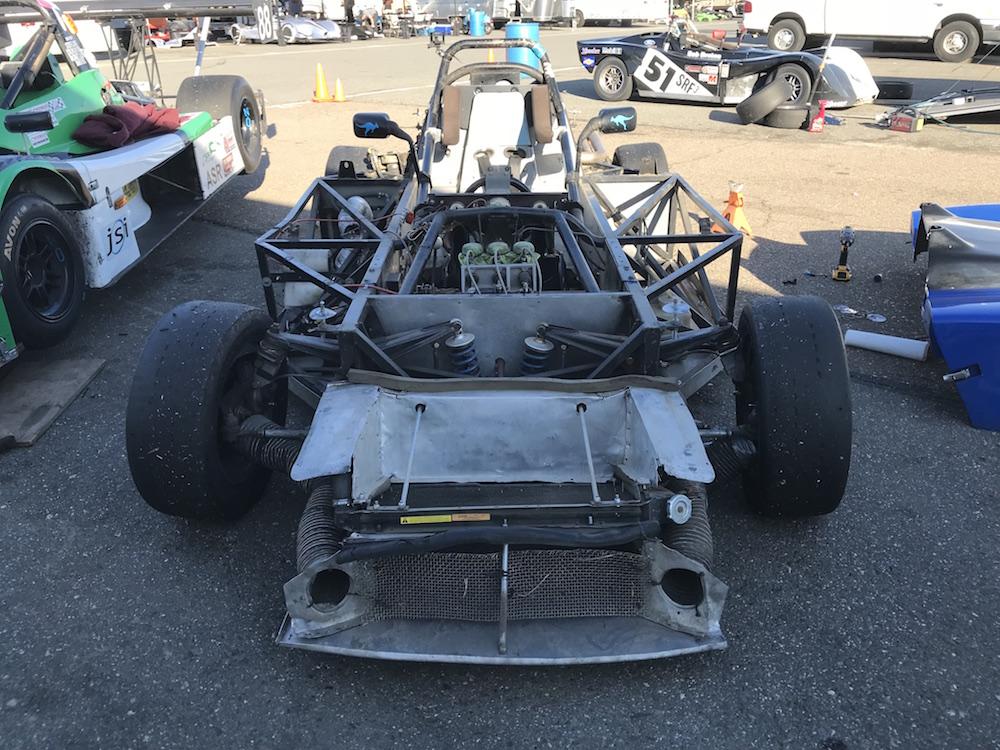 Kanga Motorsports SCCA Spec Racer Ford Thunderhill Body Work Removed.JPG