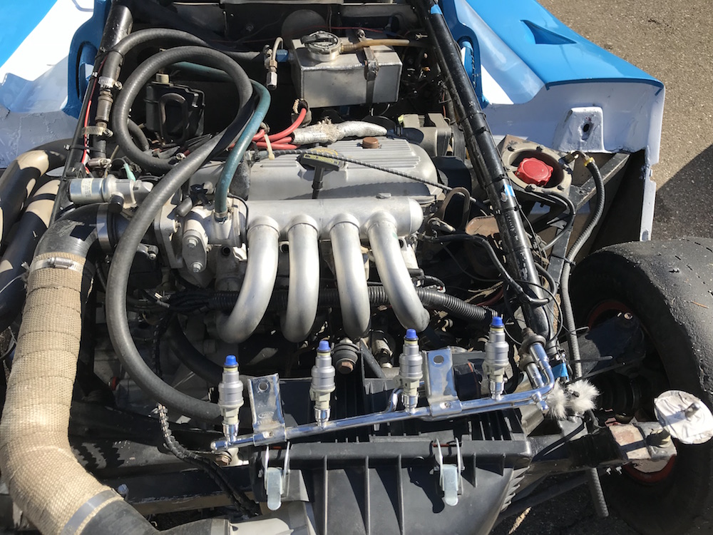Kanga Motorsports SCCA Spec Racer Ford Thunderhill New Fuel Injectors.JPG