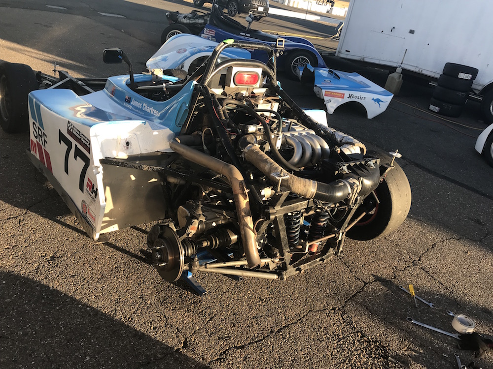 Kanga Motorsports SCCA Spec Racer Ford Thunderhill Working on the Fuel System.JPG