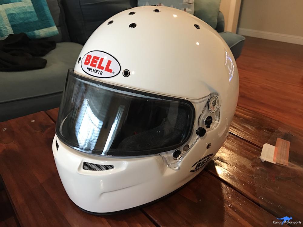 Kanga Motorsports Making Vinyl Bell RS-7 Helmet.JPG