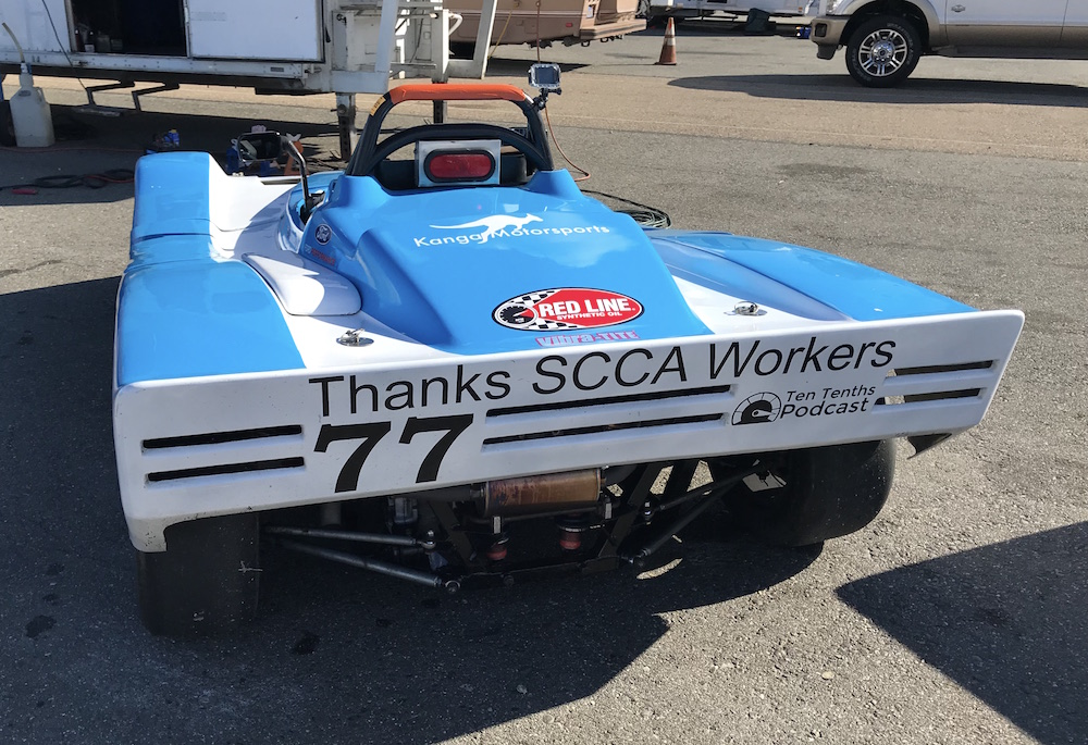 Kanga Motorsports Spec Racer Ford Gen3 SCCA Thunderhill March 2018 Thanks Workers.JPG