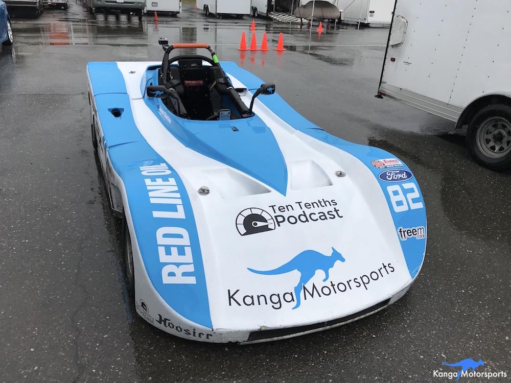 Kanga Motorsports Spec Racer Ford Thunderhill 2018 Wet Practice Preparations.JPG