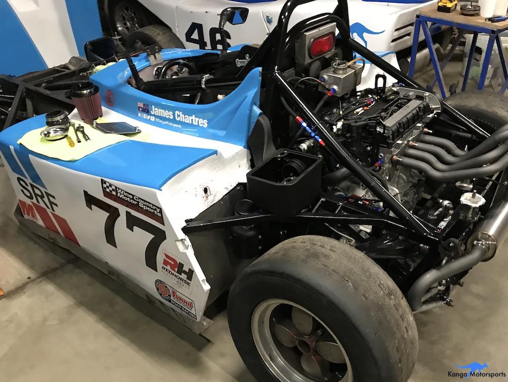 Kanga Motorsports Spec Racer Ford Gen3 Air Filter Maintenace Filter Install.JPG