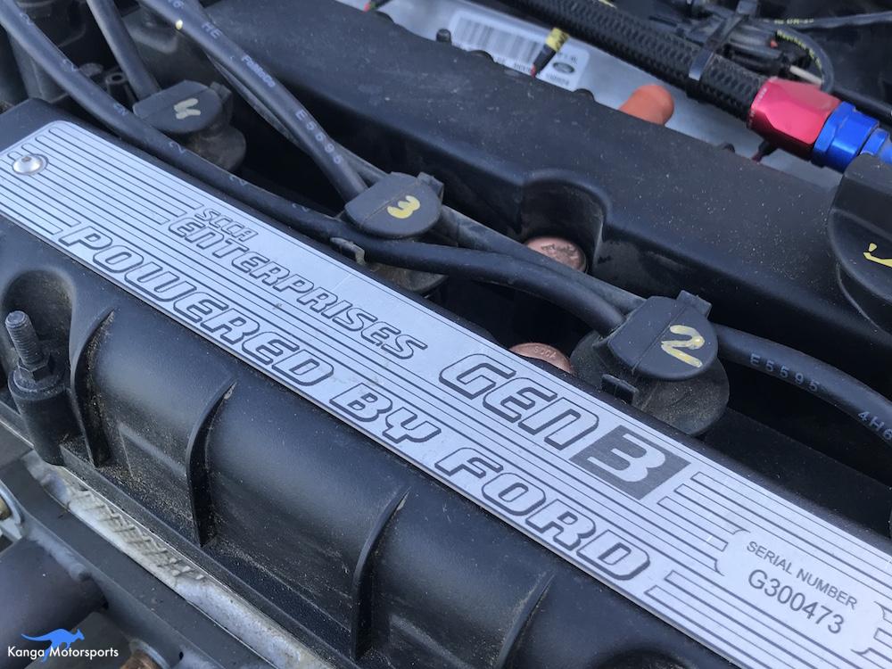 Kanga Motorsports Spec Racer Ford Compression Test Reinstall Plug Wires.JPG