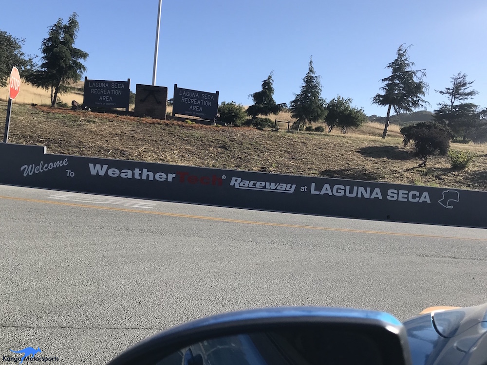 Kanga Motorsports WeatherTech Raceway Laguna Seca Spec Racer Ford Gen3 Arrival.JPG