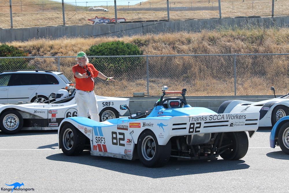 Kanga Motorsports WeatherTech Raceway Laguna Seca Spec Racer Ford Gen3 On Grid.JPG