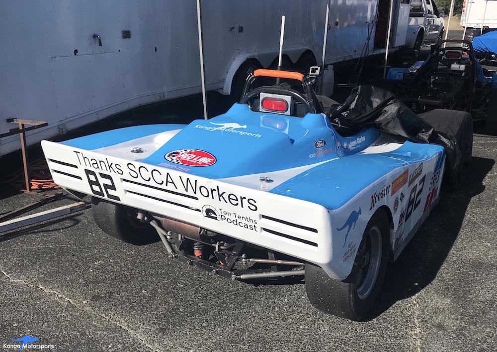 Kanga Motorsports 2018 Sonoma Majors Spec Racer Ford Gen3 Thanks SCCA Workers.JPG