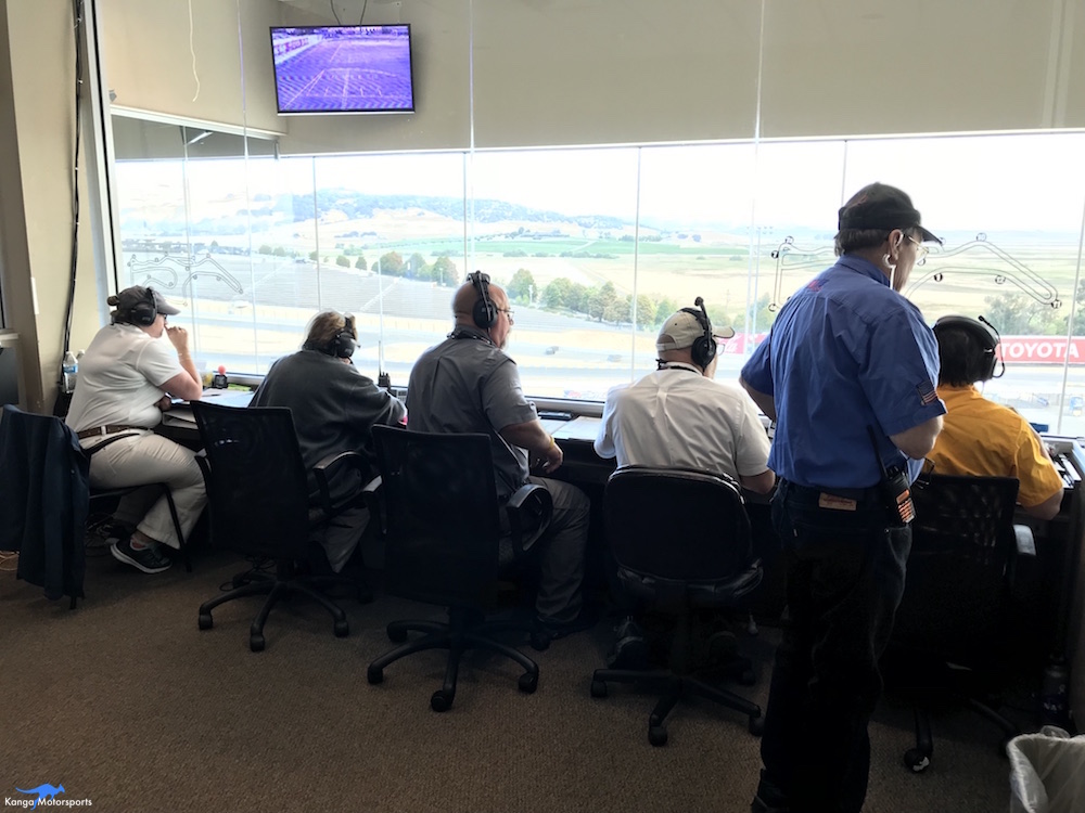Race control was busy keeping the races running smoothly, despite the large number of competitors and several on track incidents.
