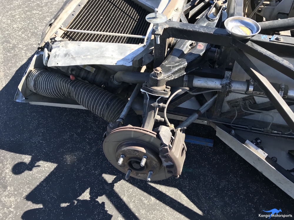 Kanga Motorsports Spec Racer Ford Gen3 Upper Ball Joint Replacement Remove Old Ball Joint.JPG
