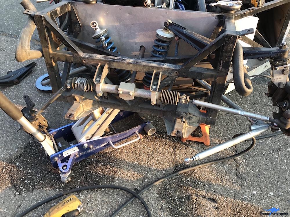 Kanga Motorsports Spec Racer Ford Gen3 2018 Thunderhill Final Car Dismantled for Repair.JPG