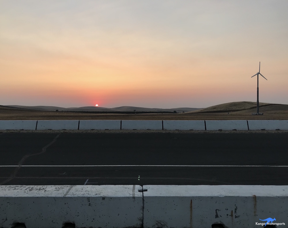 Kanga Motorsports Spec Racer Ford Gen3 2018 Thunderhill Final Sunday Sunrise.JPG