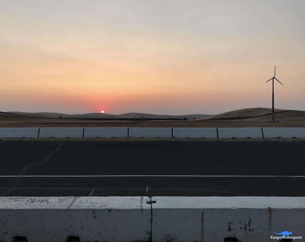 Kanga Motorsports Spec Racer Ford Gen3 2018 Thunderhill Final Sunday Sunrise.JPG