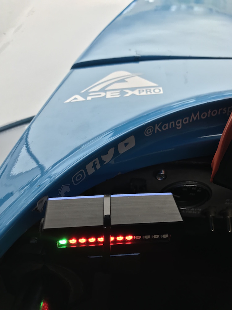 The ApexPro is a great entry level data system and on track assistance tool to help the driver in your life go faster.