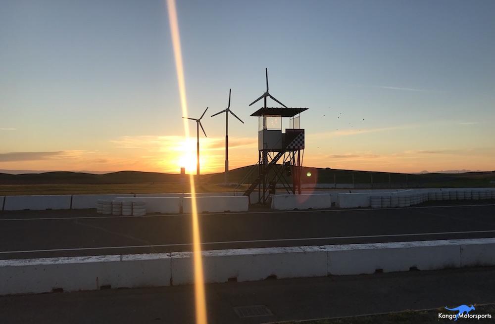 Kanga Motorsports Spec Racer Ford Gen3 Thunderhill Friday Sunrise.JPG